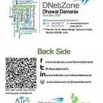 Dhawal Damania DNetZone Business Card QR Code