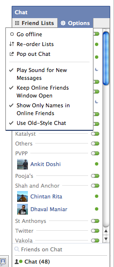 Fed up with the New Facebook Sidebar? Here is how you can Get Old Chat System Back