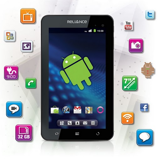 Buy your Reliance 3G Tab online, Now Available – Prices, Specification and Tariff
