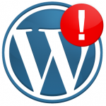 wordpress-error