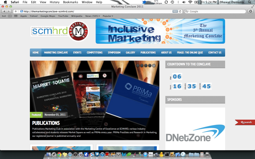 scmhrd website 2011 dnetzone thednetworks air5