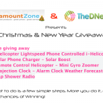 [Winners Announced] The DNetWorks Christmas, New Years 2012 Give-away In collaboration with ParamountZone.com