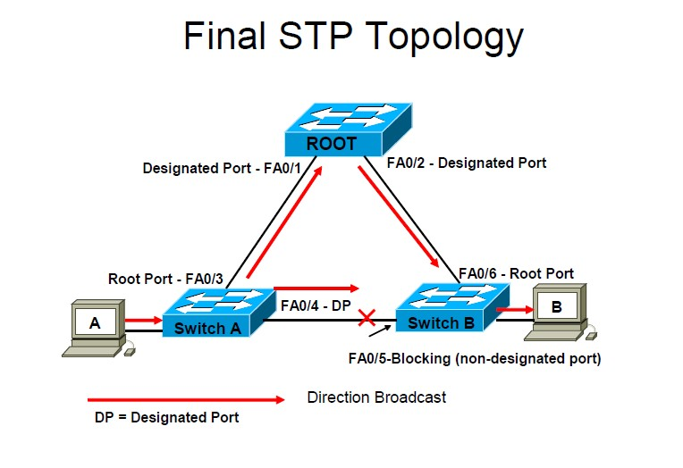 what is stp in networking