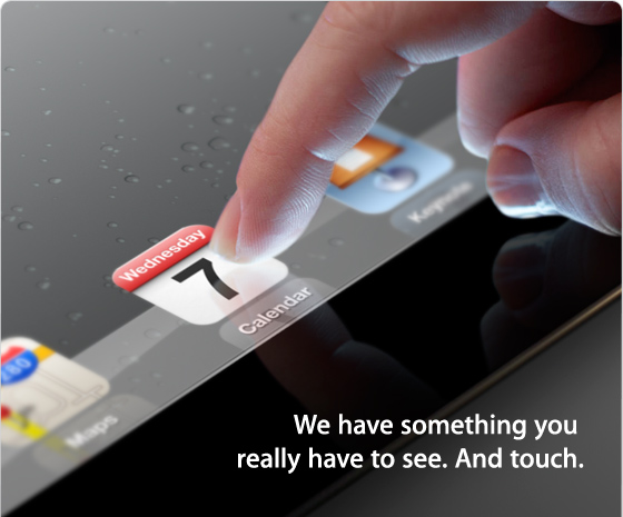 iPad 3 equipped with Quad-core Processor, Retina display, 4G LTE to be launched on March 7th