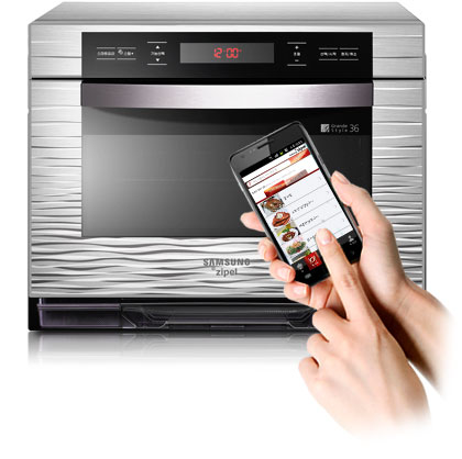 This Smart Ovens can cook over 150 recipe stored in your Android Phone Wirelessely
