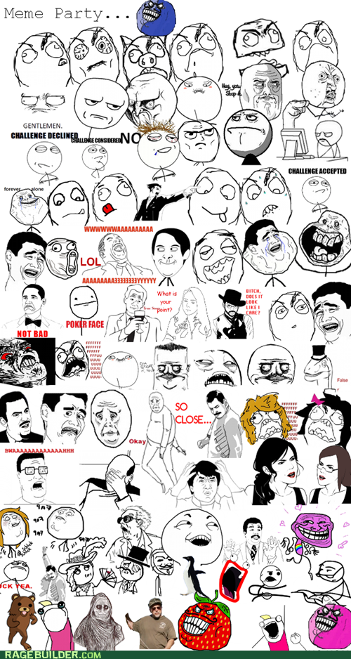 rage comics dummies guide to internet memes