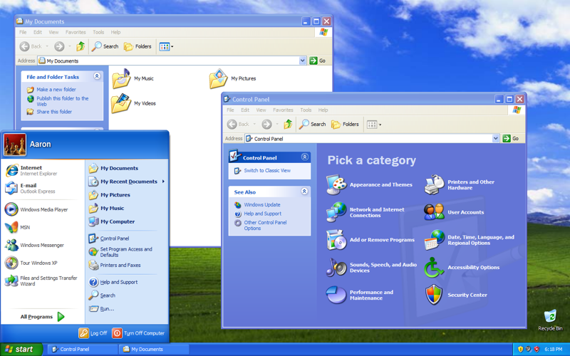 Year 2006 Windows Vista