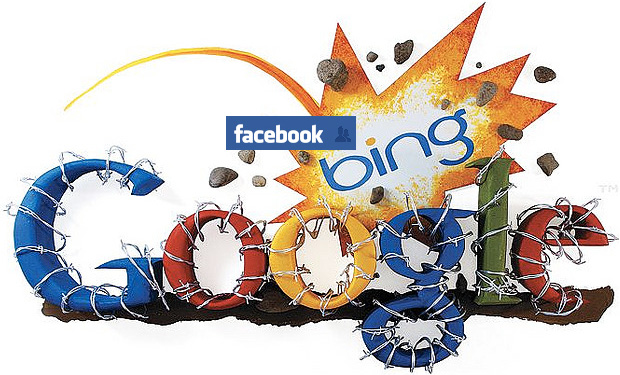 google-bing-facebook