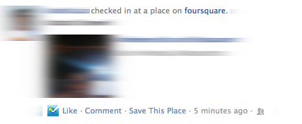 Facebook adds a feature Foursquare would love, Action Links