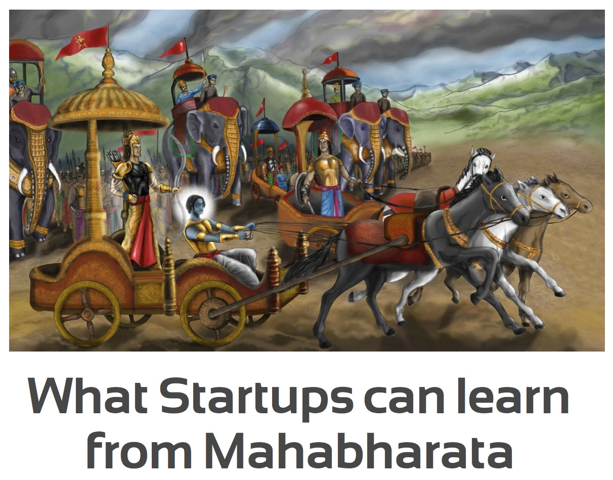 What Startups can learn from Mahabharata