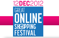 The Great Online Shopping Festive is live in India for today 12/12/12
