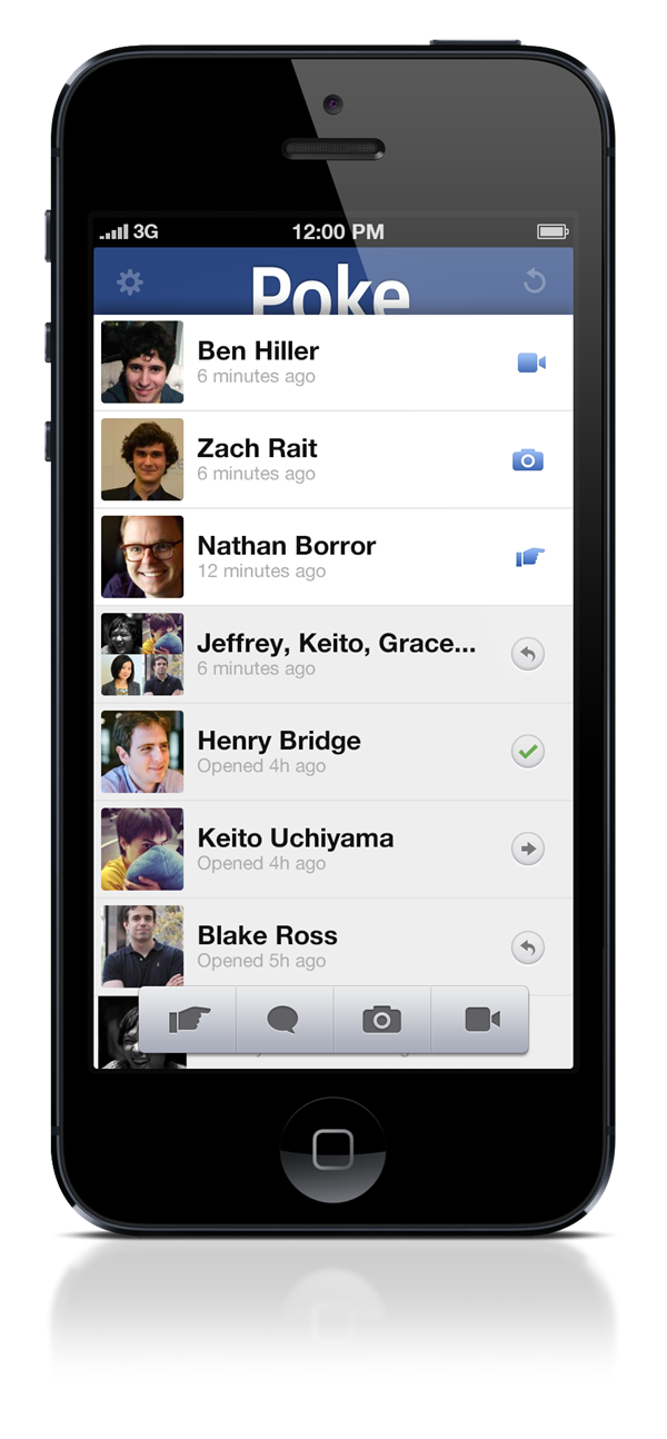 Facebook introduces Poke! in a New Avatar