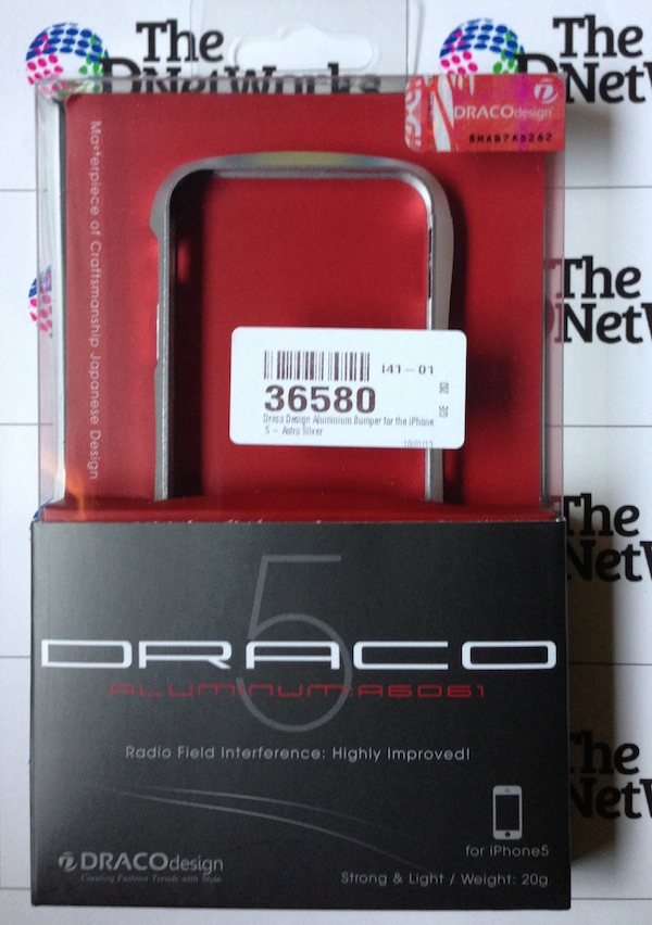 Review: Draco 5 Aluminium Bumper Case for the iPhone 5