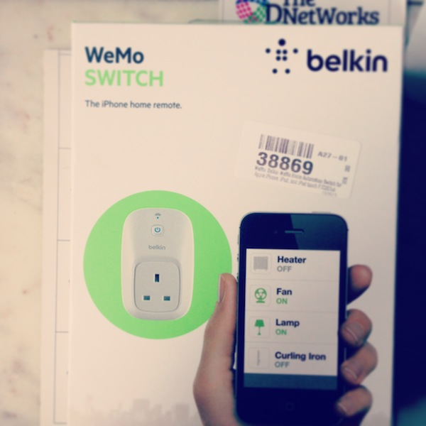WeMo from Belkin – The first Step towards Home Automation