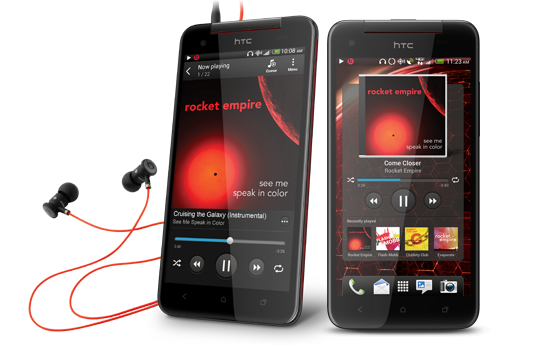 HTC-Butterfly-S-Music-player