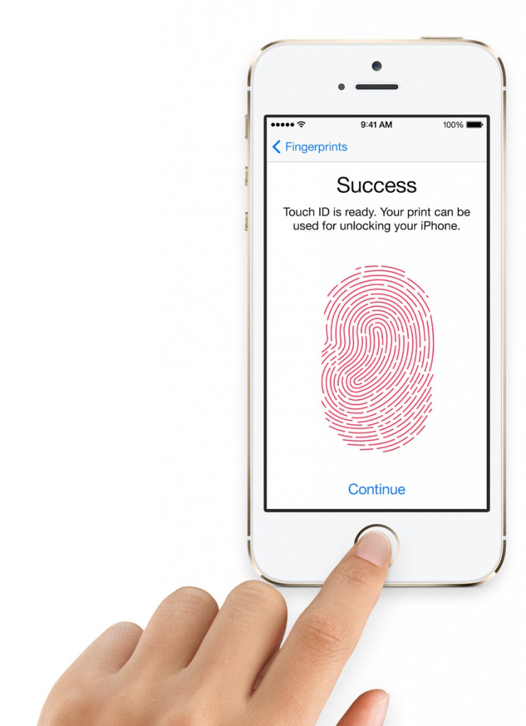 Apple iPhone 5s touchid