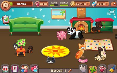 Image of: Simulator Lovely Pets Is Pet Collection Game By Developers Frismos Games In This Game Players Get To Take On The Role Of Matchmaker And Breed Their Cats And Dogs The Dnetworks Best Pet Games On Android The Dnetworks