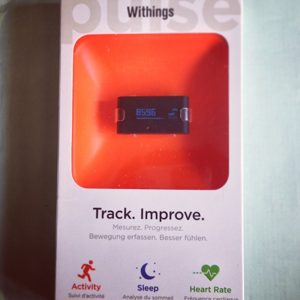 Review: Withings Pulse Activity Tracker