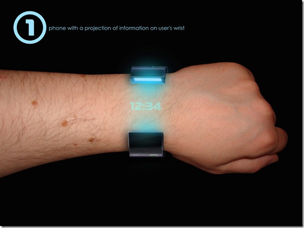 Wrist RollerPhone – Directly out of your Imagination