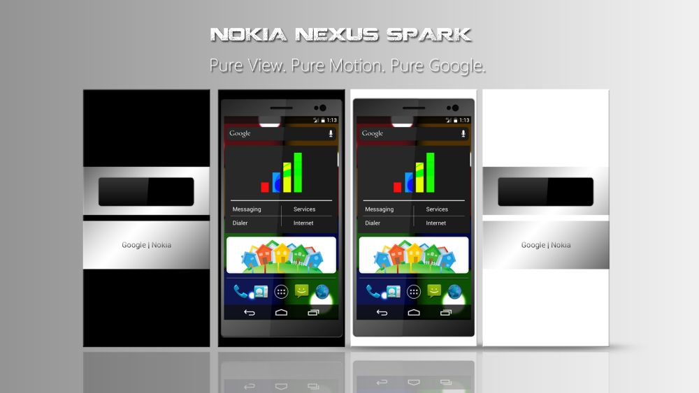 Nokia Nexus Spark may have Android 5.0 – Concept Phone