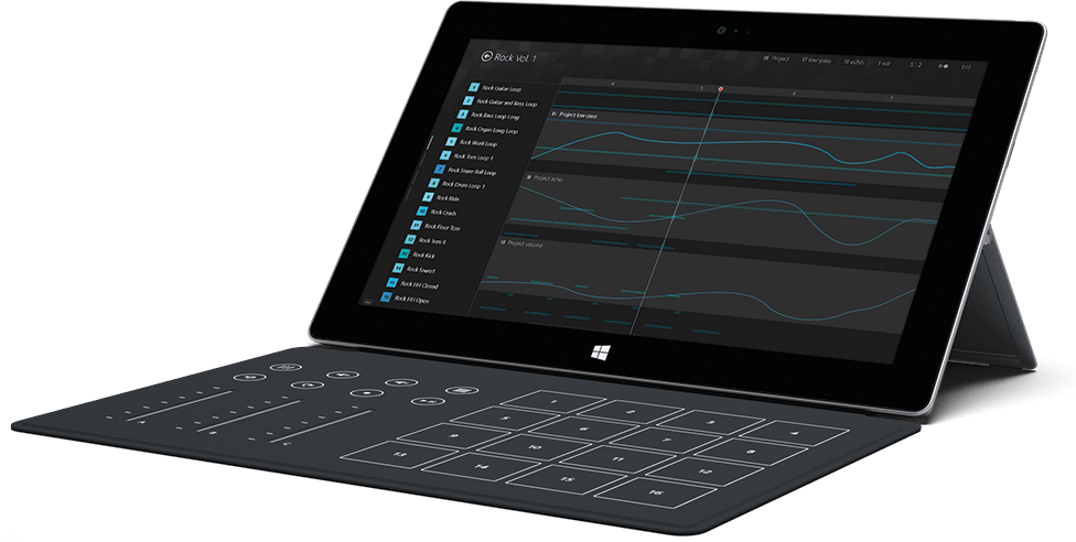 Surface Blades – specialized keyboards for tablets